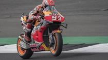Marquez Pole Position di MotoGP Inggris, Rossi Kedua