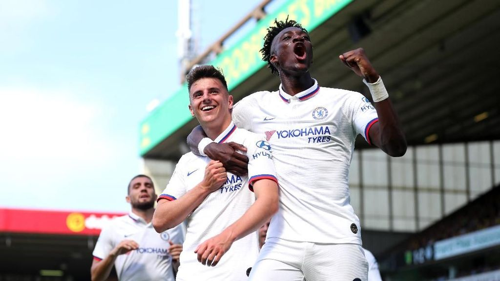 Norwich Vs Chelsea: Abraham Dua Gol, The Blues Menang 3-2