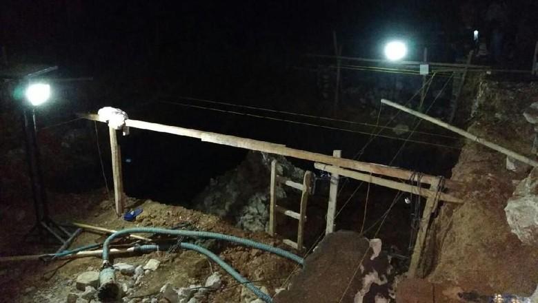 Pekerja di Maros Tewas Tertimbun Longsor Galian 3,5 Meter