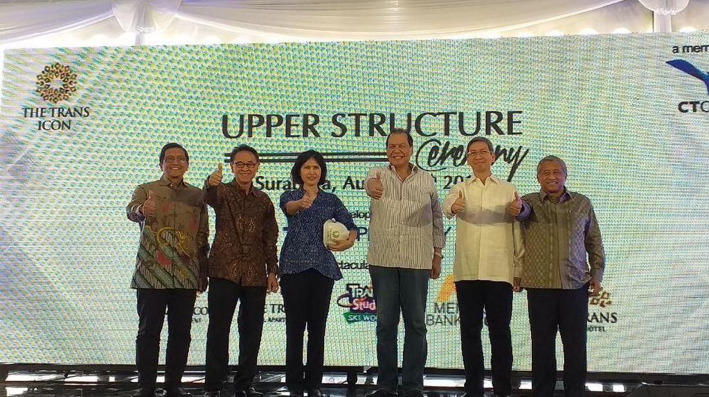 Mulai Dibangun CT, The Trans Icon Surabaya Tawarkan Fasilitas Ini