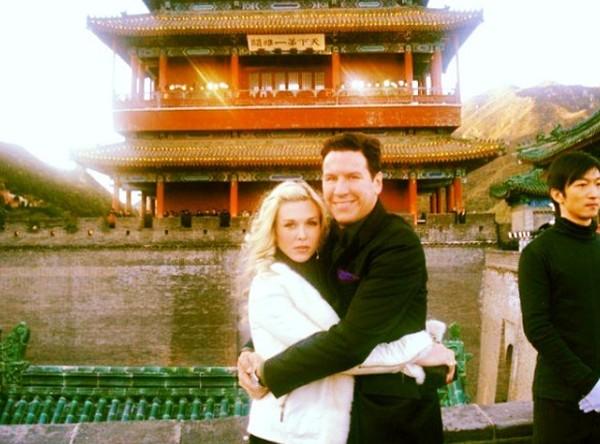 Dia juga pernah bersama kekasihnya liburan ke China (tinsleymortimer/Instagram)