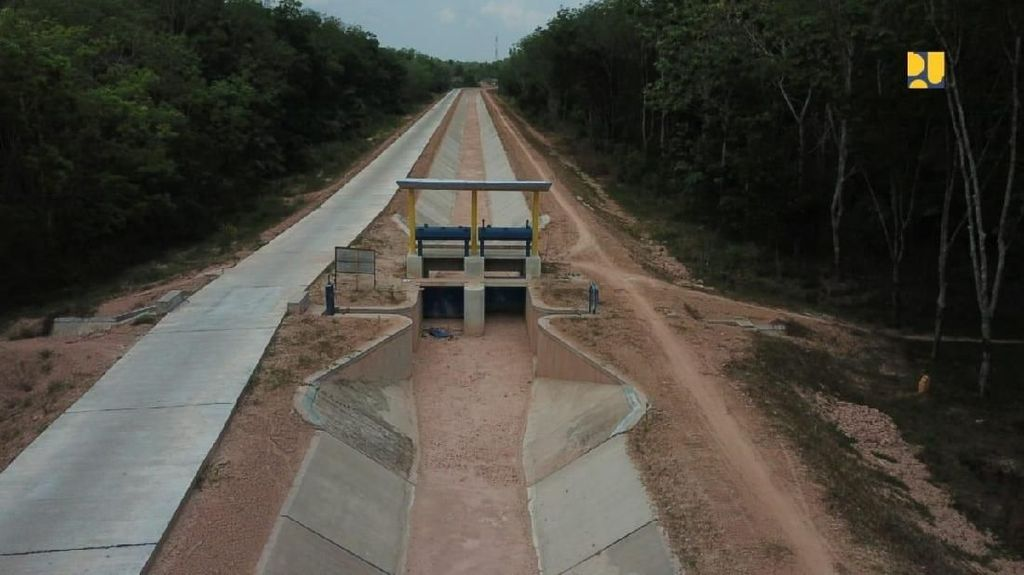 Mengintip Pembangunan Irigasi di Sumatera Selatan