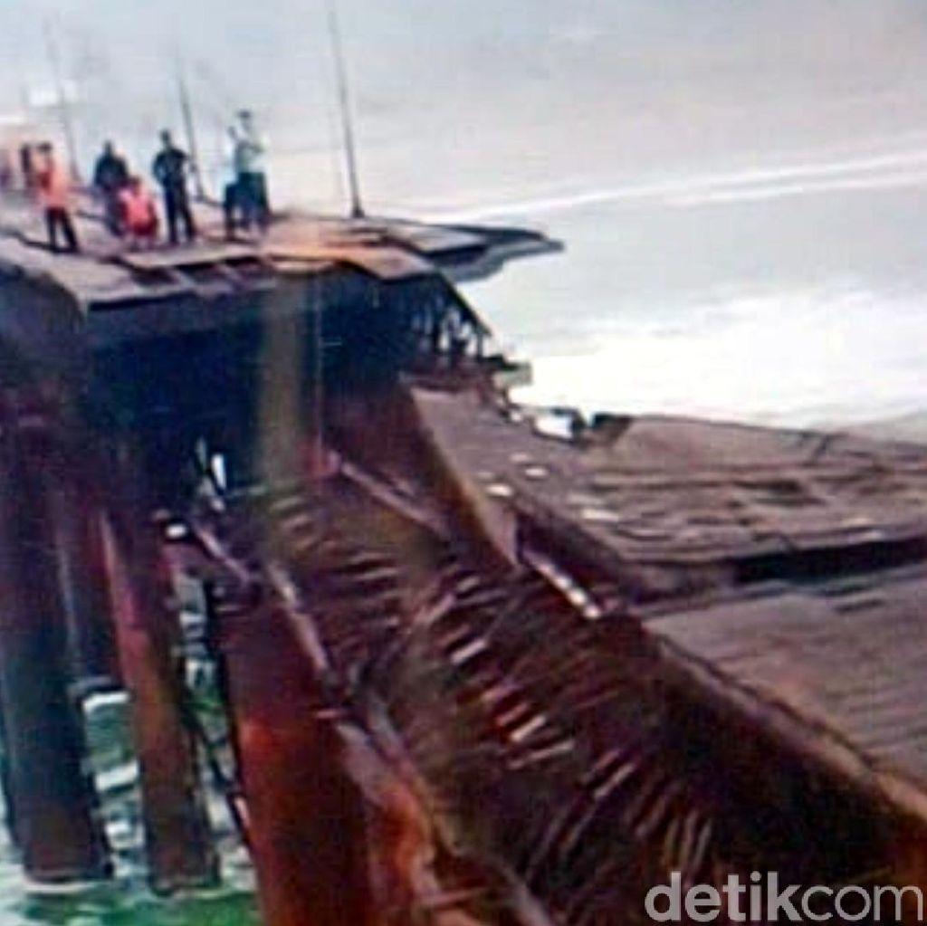 13 Pemancing Terjebak Dermaga Roboh di Sukabumi Berhasil Dievakuasi