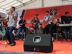 Wow! Napi dan Petugas Lapas Cianjur Kolaborasi Bentuk Lajur Band