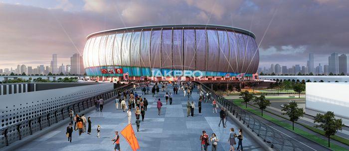 Stadion ini akan dibangun seperti layaknya stadion-stadion yang dipakai di Premier League. Nantinya stadion ini akan menjadi kandang dari klub Persija Jakarta.Foto: Dok. Jakpro