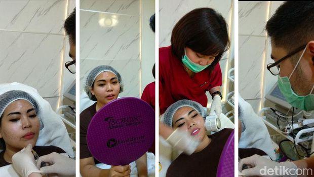 Para personel Duo Semangka menjalani perawatan di Jakarta Barat.