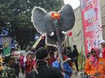 Melihat Kemeriahan Festival Gajah di Cimahi
