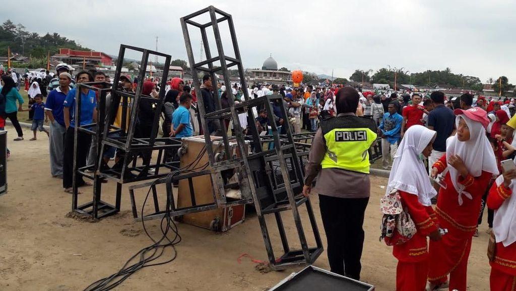 Insiden Tower Sound System Roboh, KBN di Padang Panjang Tetap Dilaksanakan