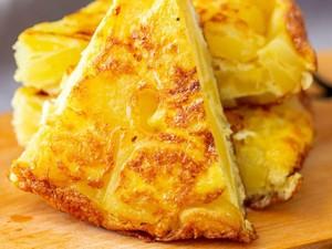 Dengan 3 Bahan Ini Bisa Bikin Omelet Spanyol Buat Sarapan