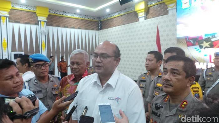 Foto: Direktur Utama Badan Pelaksana  Otorita Danau Toba (BPODT) Arie Prasetyo (Budi Warsito-detikcom).