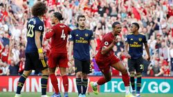 Babak I Liverpool Vs Arsenal: The Reds Unggul 1-0