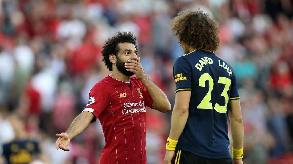 Soal Penalti, Salah ke Luiz: Aku Tak Merasa Ada yang Tarik