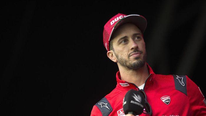 Andrea Dovizioso kecelakaan parah di MotoGP Inggris hingga sempat hilang ingatan. (Foto: Mirco Lazzari gp/Getty Images)