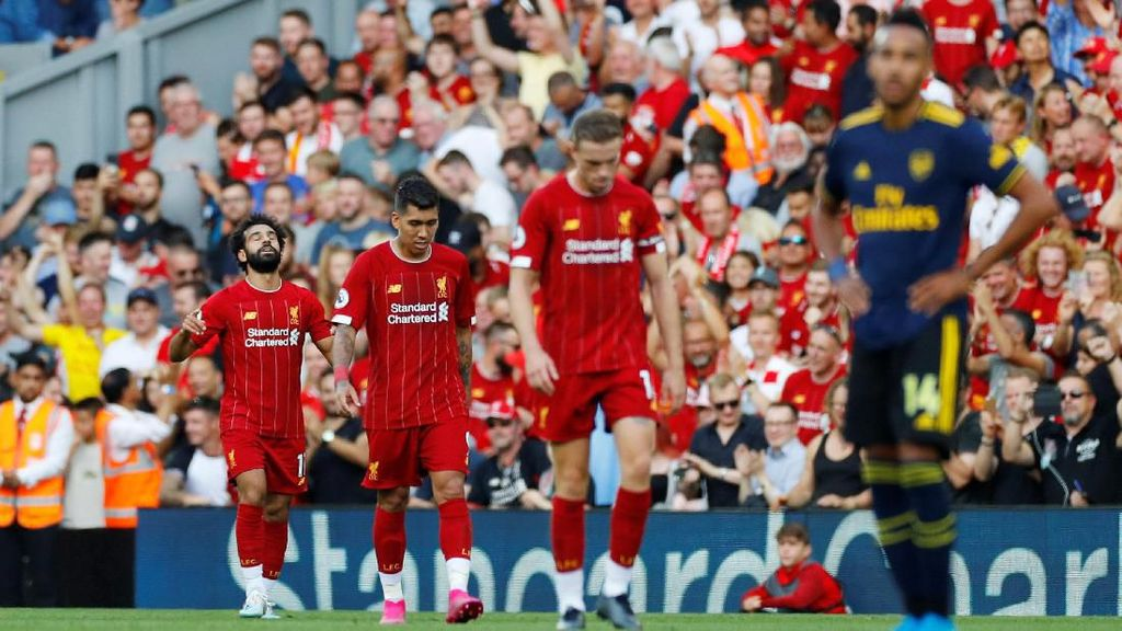 Liverpool Vs Arsenal: Si Merah Ukir Rekor Kemenangan Beruntun