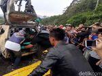 Geger 2 Mayat Korban Pembunuhan Dalam Mobil Terbakar di Sukabumi