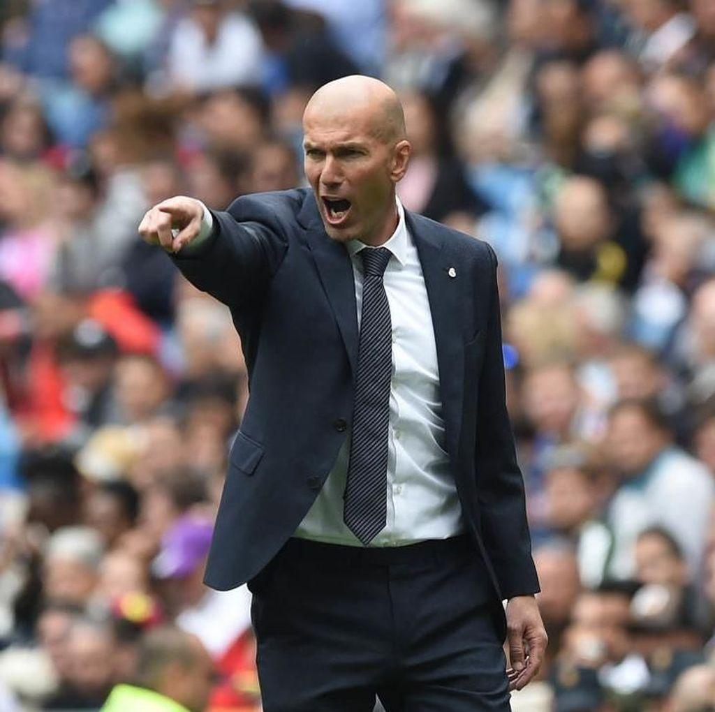 Real Madrid Diimbangi Real Valladolid, Pil Pahit untuk Zinedine Zidane