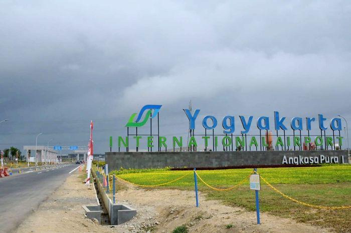 Penerbangan komersial perdana YIA dibuka pada 6 Mei 2019 lalu. Istimewa/Kementerian Perhubungan.
