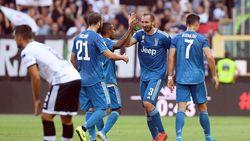 Hasil Parma Vs Juventus: Gol Chiellini Antarkan Bianconeri Raih Kemenangan