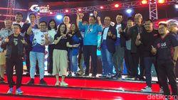 Keseruan Ajang Gamers Land Party 2019 Pertama di Surabaya