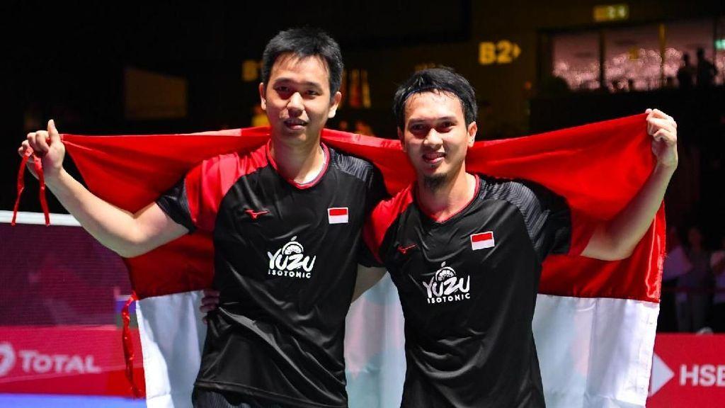 8 Fakta Hendra/Ahsan Usai Juara Dunia 2019