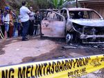 Dua Mayat Dalam Mobil Terbakar, Saksi Lihat Mobil Hitam Parkir Dekatnya