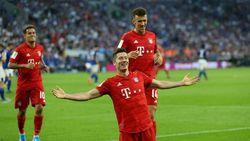 Hasil Liga Jerman: Hat-trick Lewandowski Bawa Bayern Kalahkan Schalke 3-0