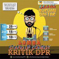 Stand Up Comedy Kritik DPR Kembali Digelar