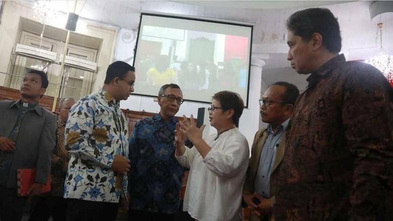 Hadiri HUT ke-180 Gereja Imannuel Jakarta, Anies: Ini Saksi Kemanusiaan
