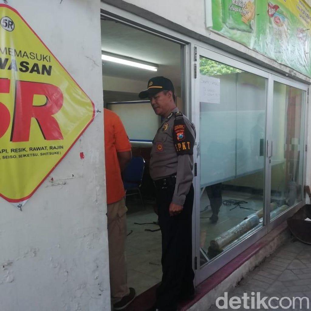 Perampok Bobol Sebuah Gudang di Madiun, Uang Rp 210 Juta Amblas