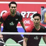 Lewati Laga 29 Menit, Hendra/Ahsan Jejak Semifinal China Open