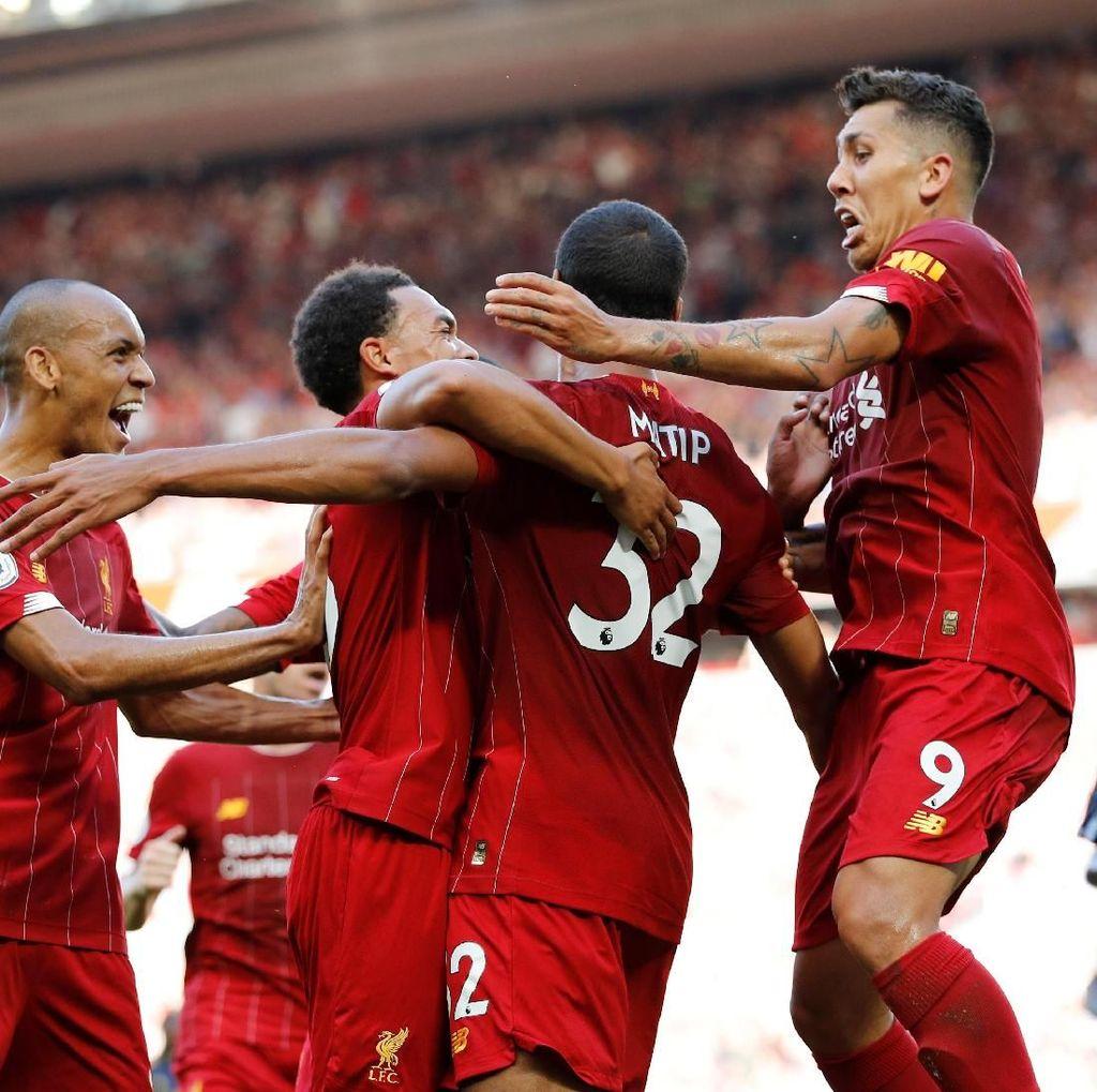 Klasemen Liga Inggris: Liverpool Nyaman Teratas