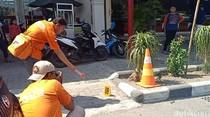 Polisi Bawa Rekaman CCTV Toko Emas yang Dirampok Terduga Teroris
