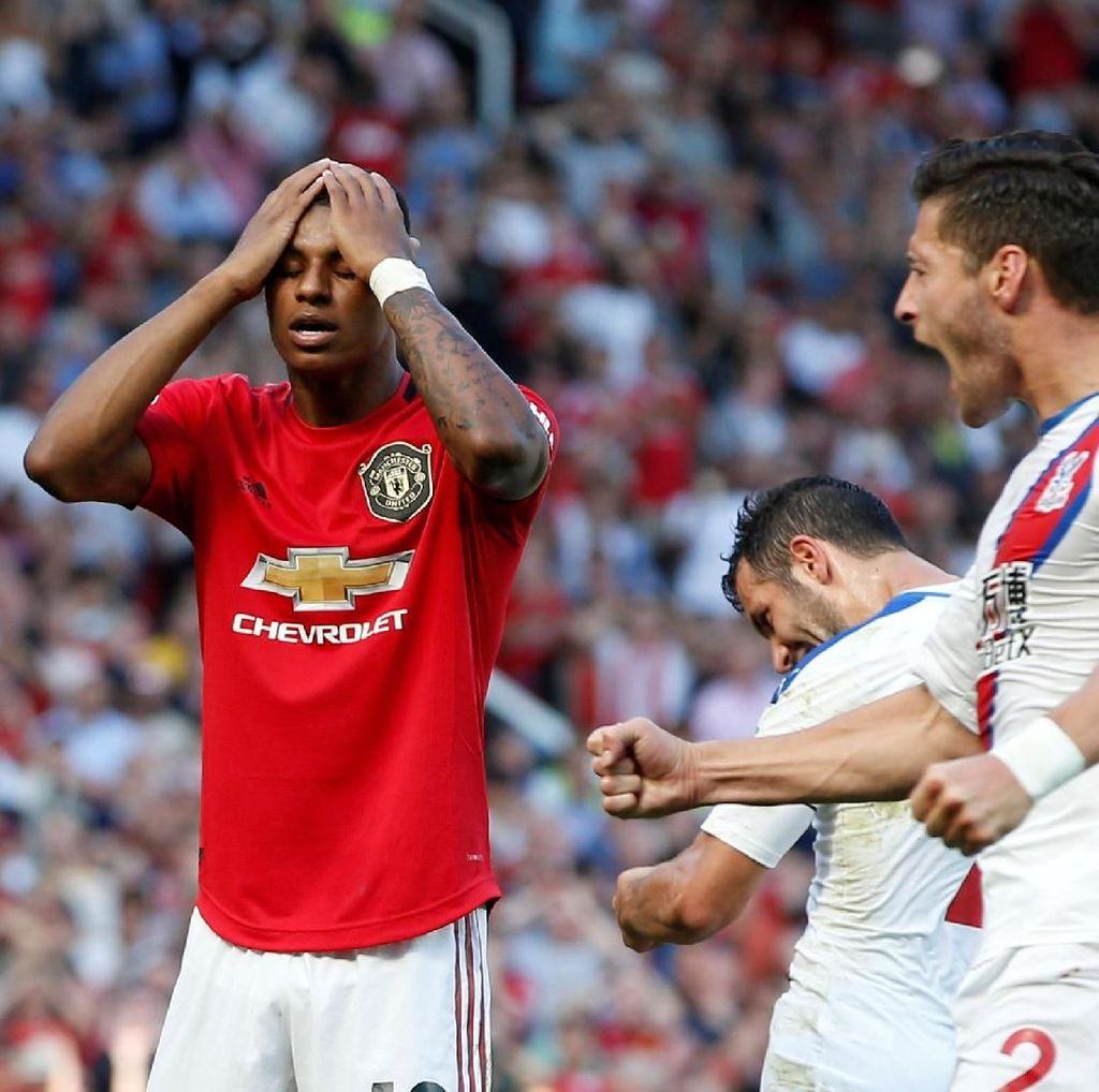 4 Catatan Buruk Man United Usai Dipermalukan Crystal Palace