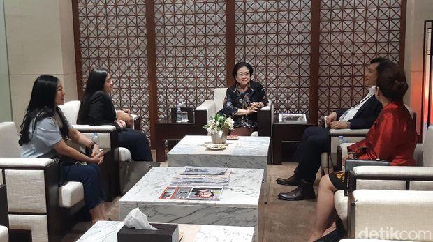 Ketua Umum PDI Perjuangan (PDIP) Megawati Soekarnoputri berkunjung ke Seoul, Korea Selatan