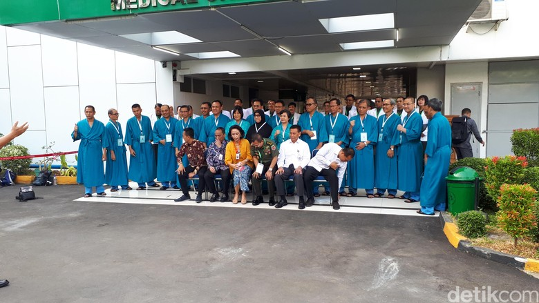 20 Capim KPK Jalani Tes Kesehatan di RSPAD