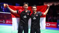 Hendra/Ahsan Juara Dunia, Presiden Jokowi: Selamat The Daddies