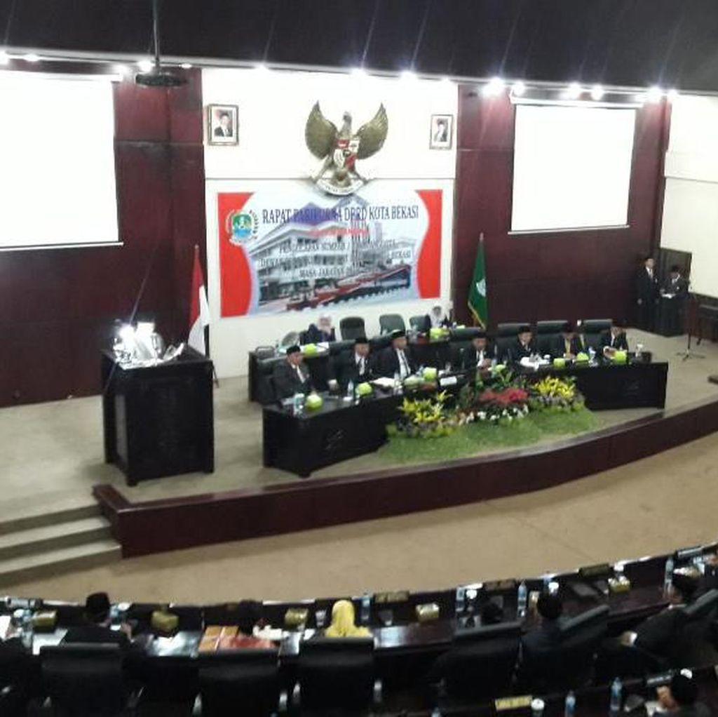 50 Anggota DPRD Kota Bekasi Periode 2019-2024 Dilantik, Ini Daftarnya