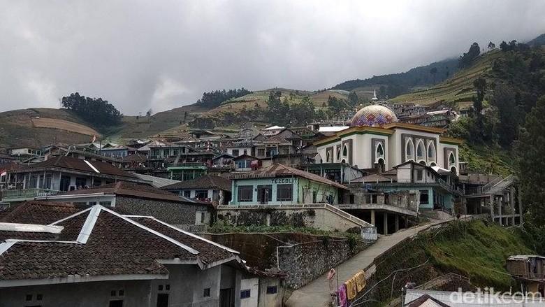 Suasana perkampungan Dusun Butuh, Magelang (Eko Susanto/detikcom)