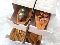 Stack: Yummy! Lobster dan Wagyu Ball Sandwich Tumpuk yang Kekinian