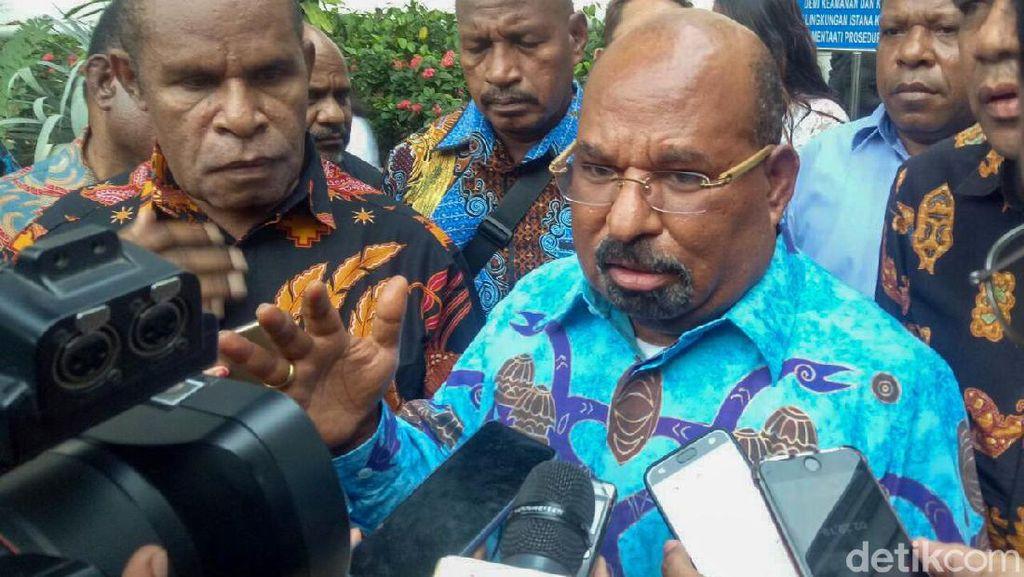 Gubernur Papua soal Terobos Papua Nugini: Saya Punya Hak ke Sana-Kemari