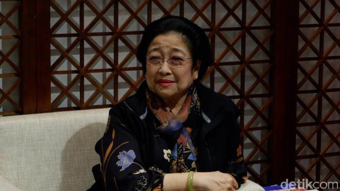 Megawati Soekarnoputri (Herianto Batubara/detikcom)