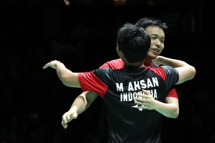 Hendra Setiawan/Mohammad Ahsan juara dunia 2019