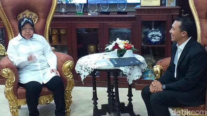 Wali Kota Risma (Amir Baihaqi/detikcom)