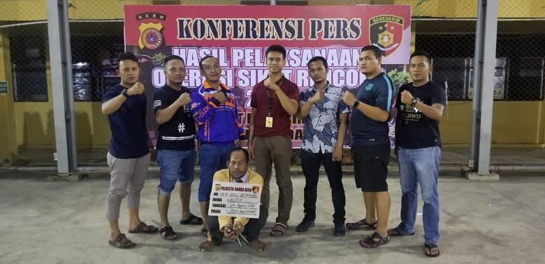 Keji! Wanita di Aceh Disiram Soda Api karena Polisikan Suami Ringan Tangan