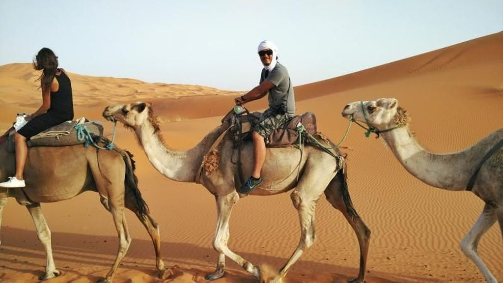 Asyiknya Jelajah Gurun Sahara di Maroko