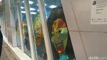 Halte Bus dan Stasiun MRT di Sudirman-Thamrin Dipercantik Seni Rupa