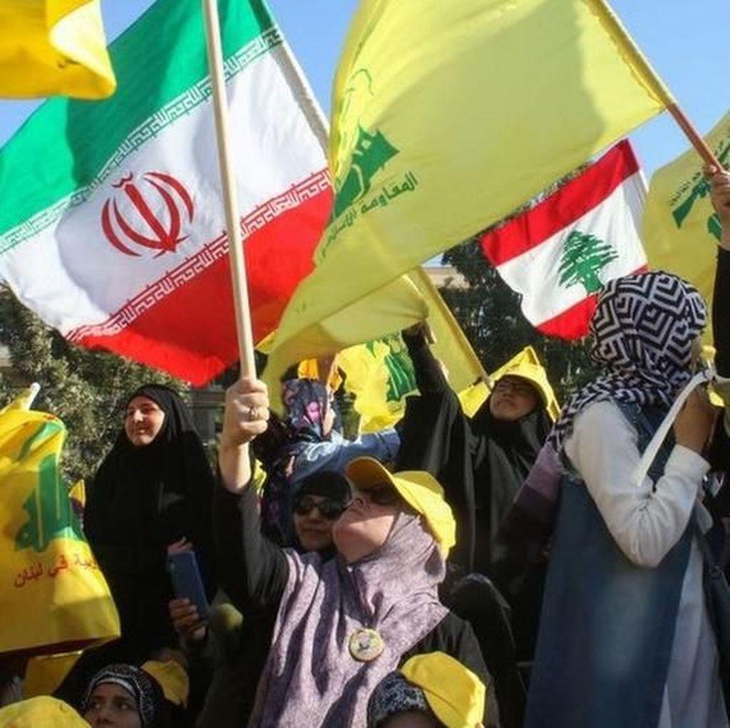 Kelompok Hizbullah Klaim Drone Israel Jatuh di Selatan Beirut