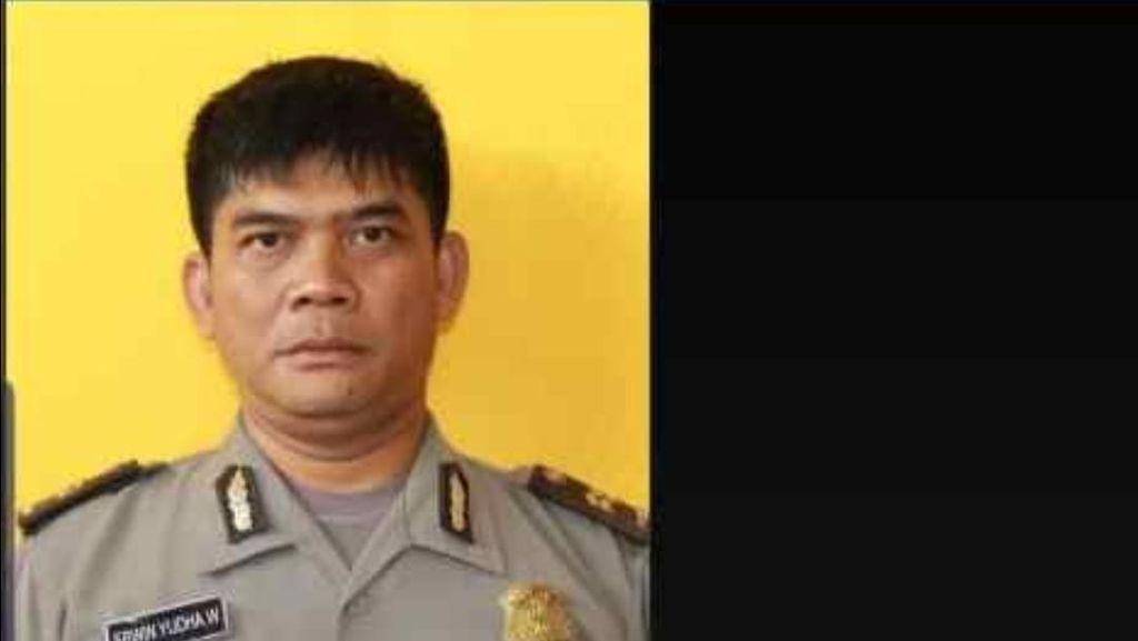 Ipda Erwin, Polisi Yang Terbakar Saat Kawal Demo di Cianjur Meninggal Dunia