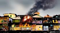 Permukiman Padat Penduduk di Jakbar Terbakar, 24 Unit Mobil Pemadam Dikerahkan