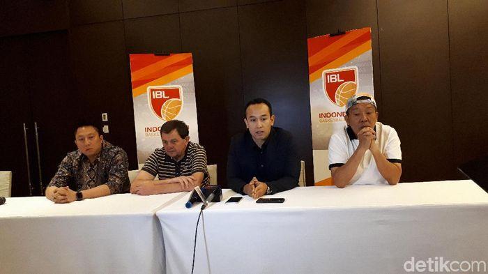 Stapac Jakarta resmi mundur dari IBL 2019/2020. (Foto: Mercy Raya/detikSport)